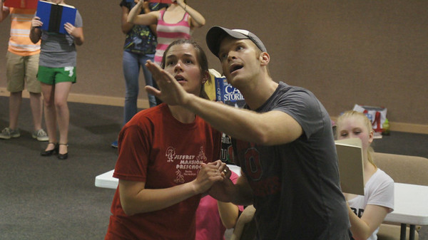 The Music Man - Rehearsal Photos