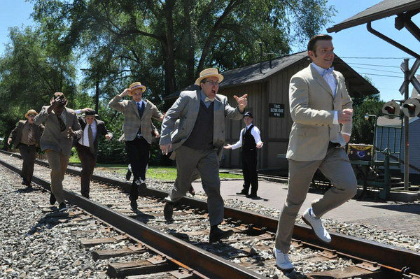 The Music Man - Traveling Salesmen Promo Photo Shoot