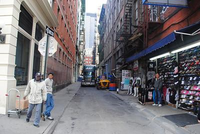 Exterior Cortlandt Alley