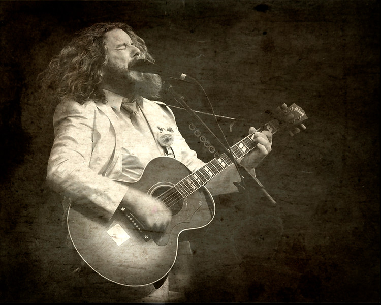 Jim James, My Morning Jacket (Sepia)