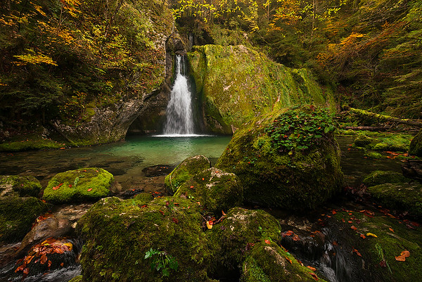 La cascata segreta