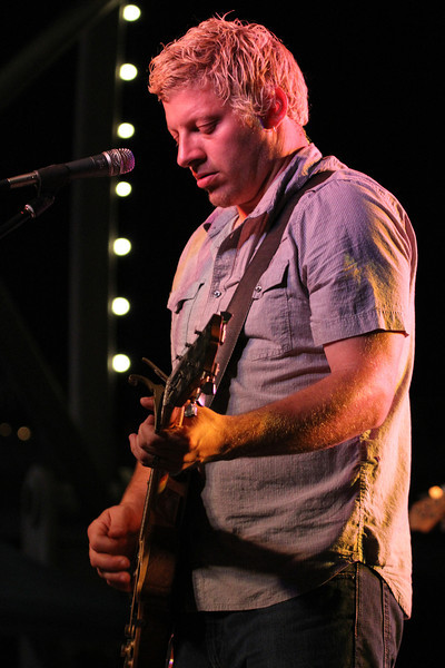 Mike Butterworth of the NADAs in Des Moines at the 2011 Nightfall on the River Concert