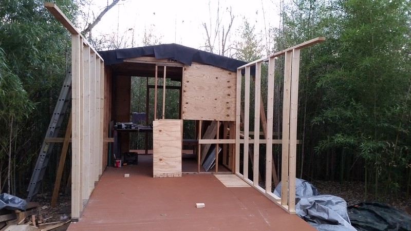 Phase 2 of 3 walls up