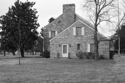 Carr house at Ft. Evans