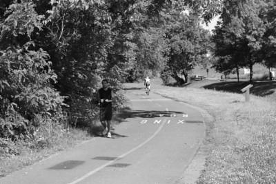 W&OD Trail in Leesburg