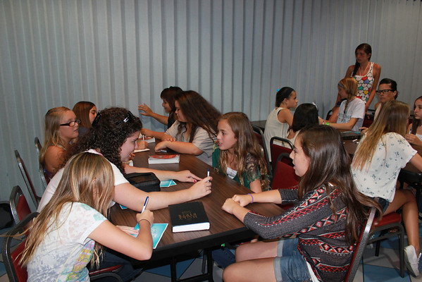 Girls' Workshop at Boomers