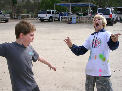Boy's Paint Balling 2006