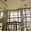 Le lobby du centre de conférence