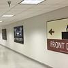 Les longs corridors sous-terrain vers le bloc Ouest