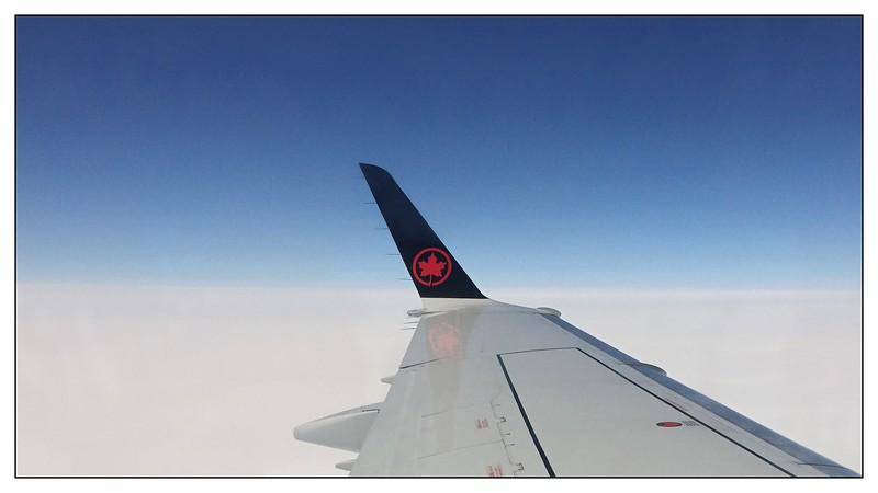 Tut semble si calme à 35,000' d'altitudes