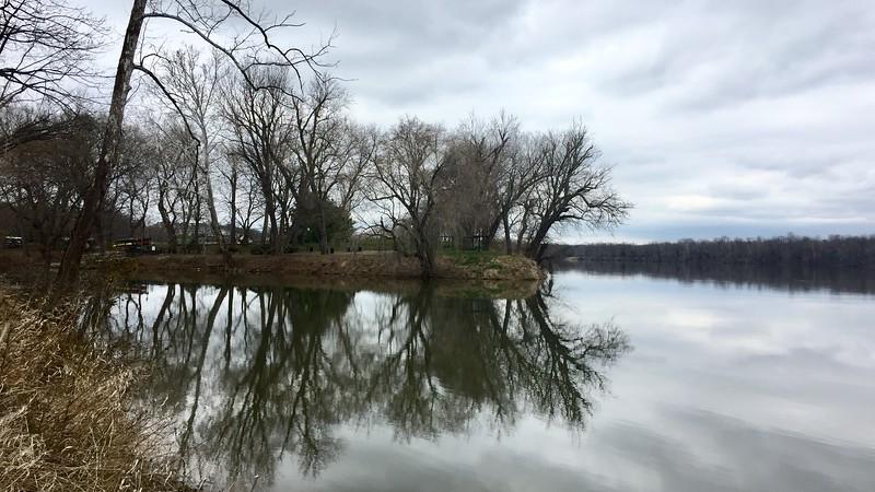 L'effet mirroir de la Potomac