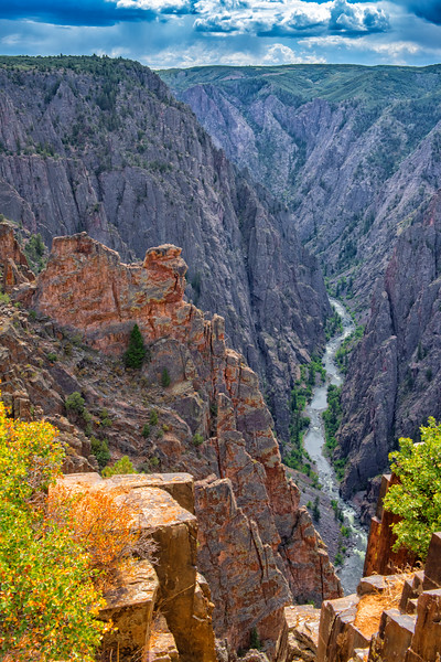 The Camel Overlook, North Side - Black Canyon of The Gunnison, NP