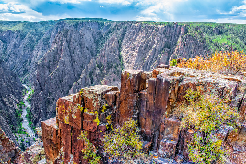 North Side - Black Canyon of The Gunnison, NP