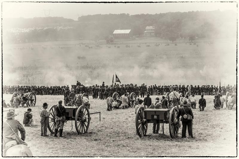 Battle Overlook - 145th Battle of Gettysburg Anniversary