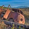 VW Buss - Polebridge, West Glacier NP, MT