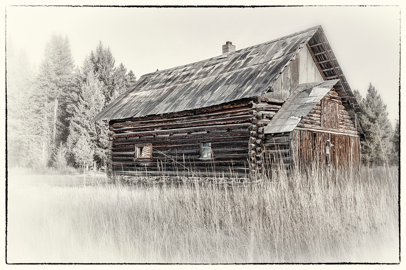 Log Cabin - Polebridge, Flathead Co., MT