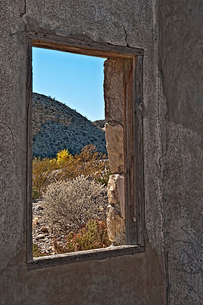 """The Watching Window"" - HDR - Hot Springs, Rio Grand Village, Big Bend NP, TX"
