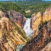 Lower Yellowstone Falls - Yellowstone NP, WY