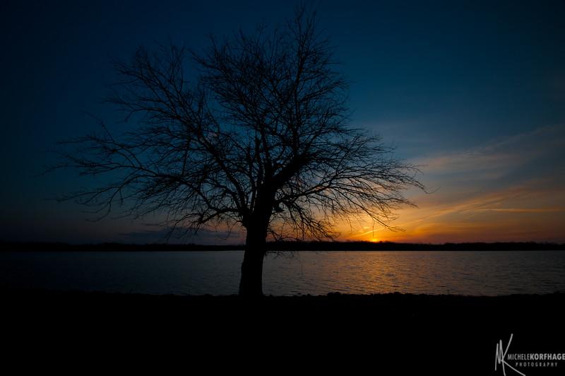 Morning Sunrise on the Lake