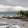 Grand Marais Lighthouse after the Storm
