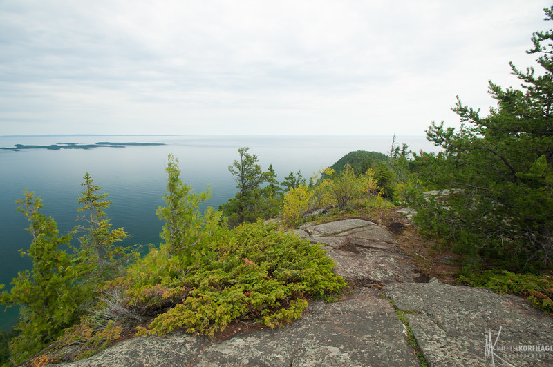 Lake Superior from Mount Josephine