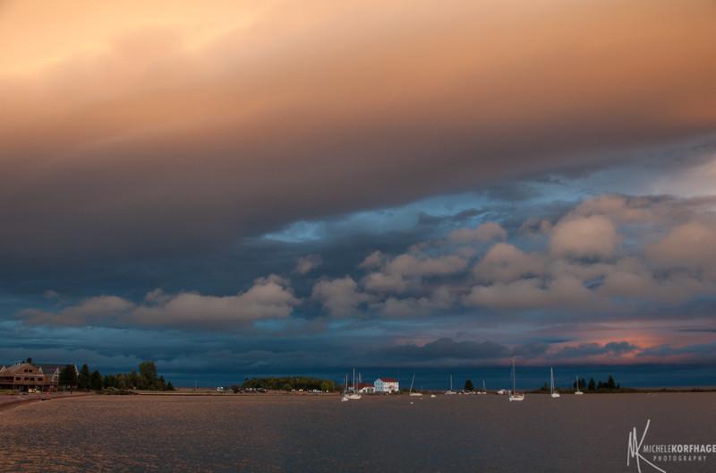 Grand Marais Harbor after a Storm 3