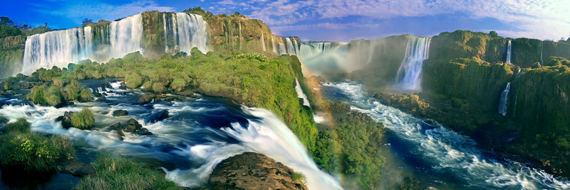 Iguazu Falls, shot from the Brazillian viewpoint, is one of the Wonders of the World. This amazing place is just overpowering in it's beauty.