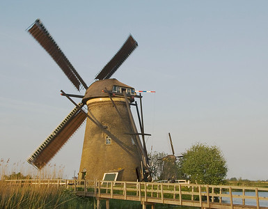 Kinderdyke Windmills