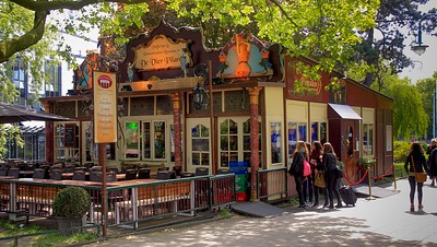 This Pancake house near our hotel is where we had the poffertjes and our first meal in Holland. As in most western European businesses where tourism is high, the staff spoke impeccable English allowing free exchanges of orders and follow up needs. This added a nice comfort level to our visit.