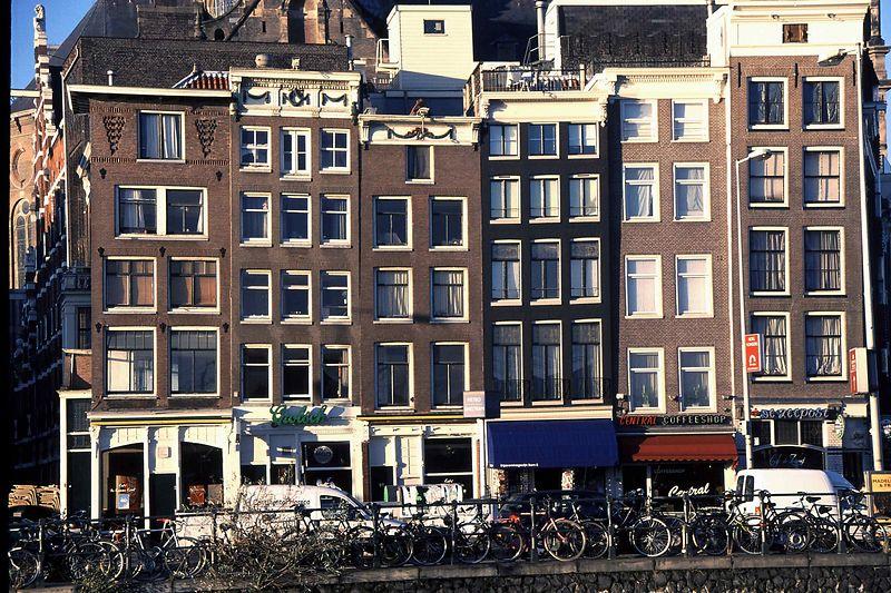 Amsterdam gables & bikes