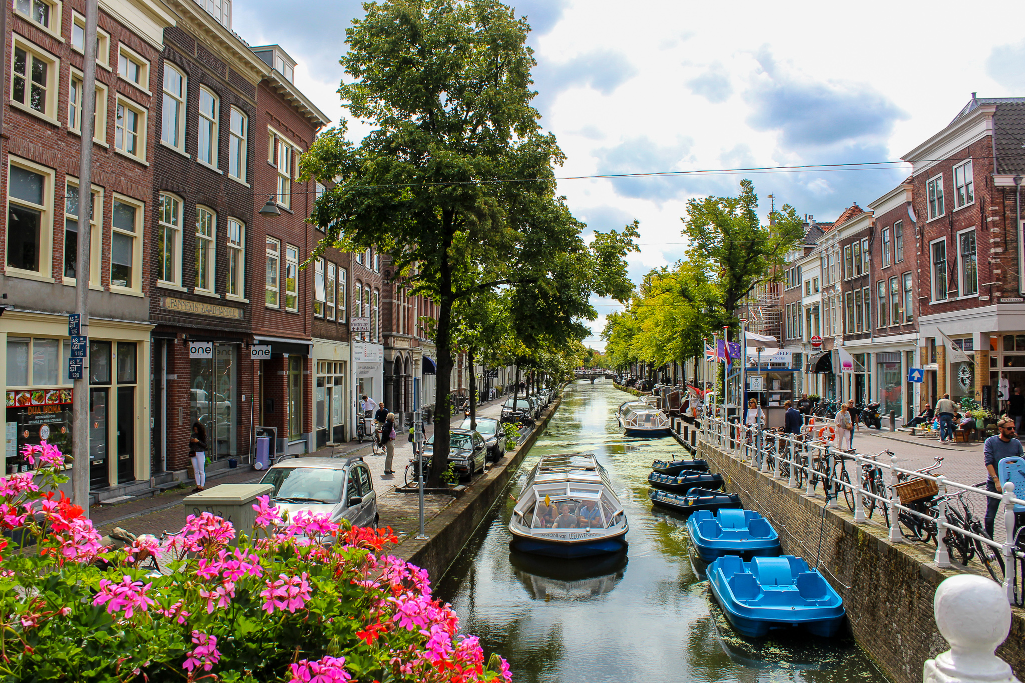 going to smaller towns like delft is great for traveling in your 30s