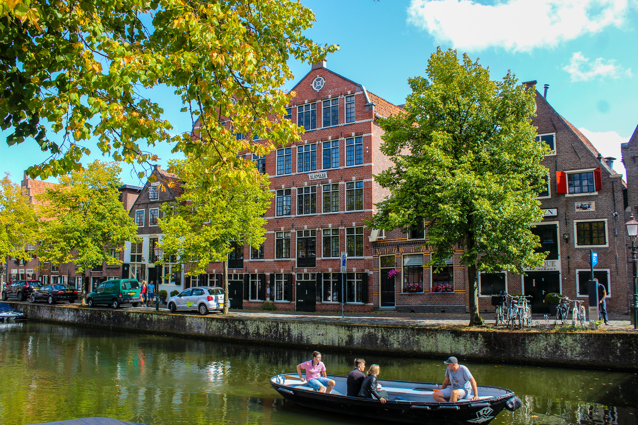 need a best day trip from amsterdam? go somewhere with a canal ride