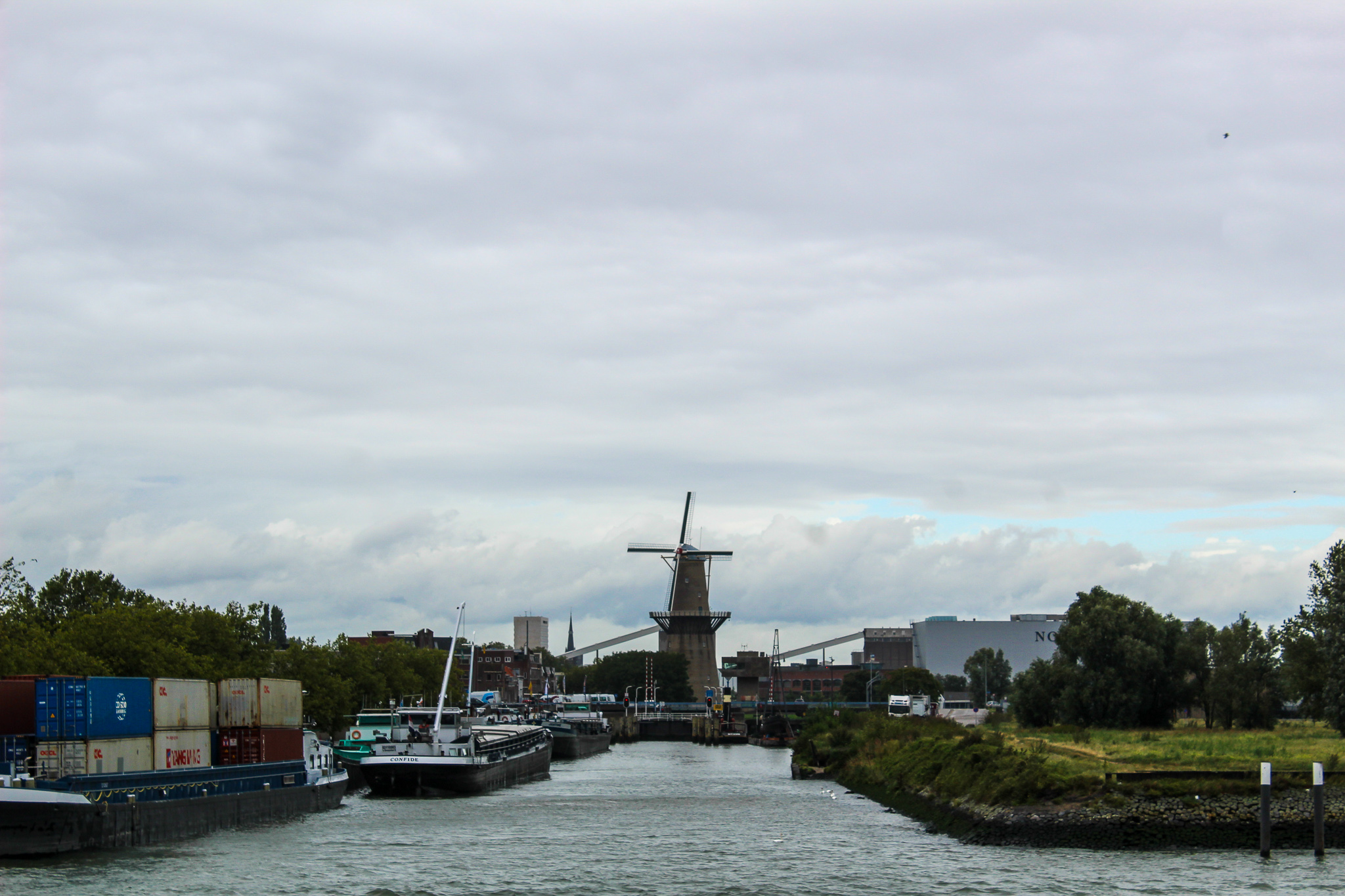 with rotterdam in one day you can even see a windmill!