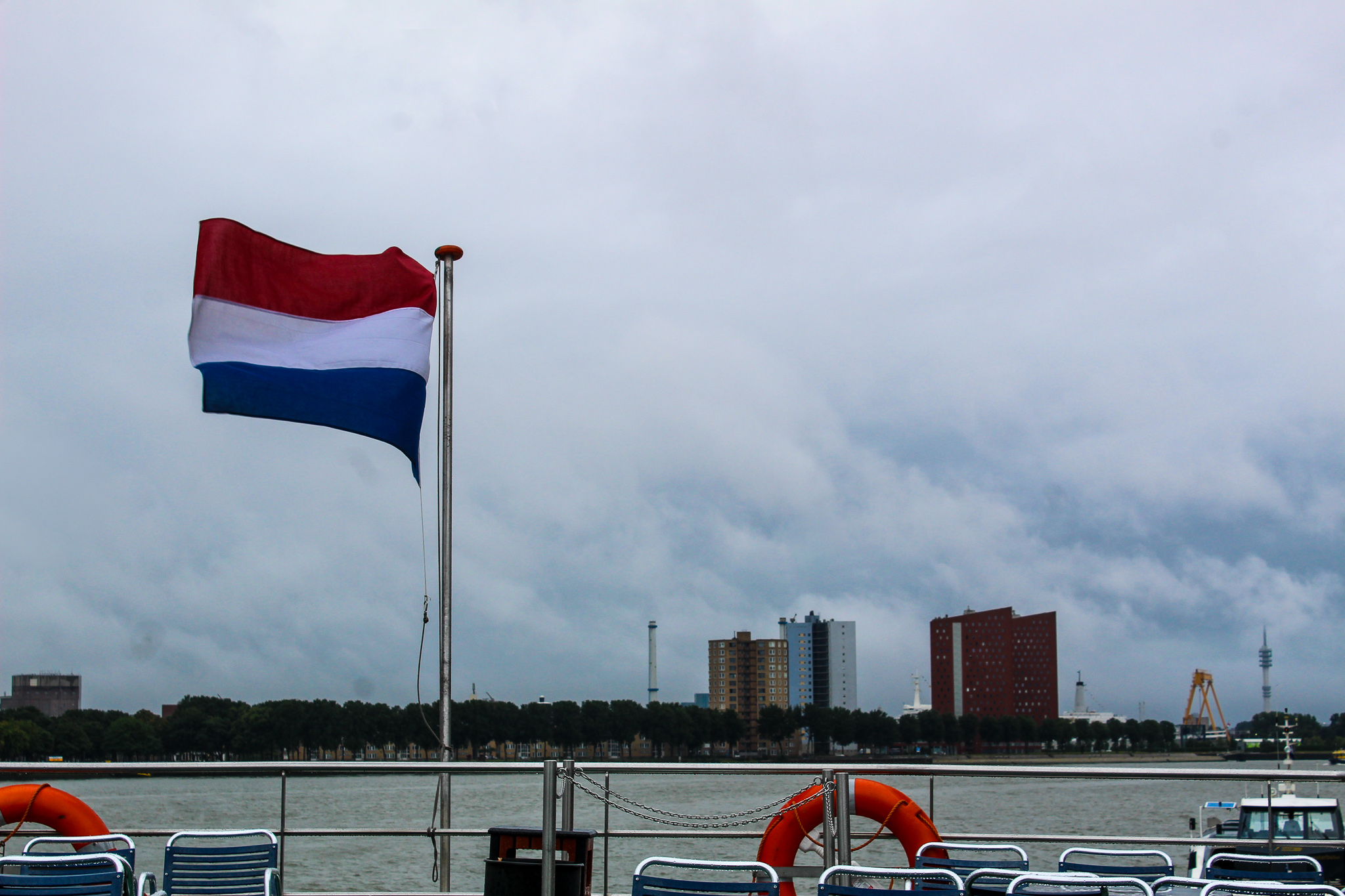 your rotterdam day trip will take you to the harbor