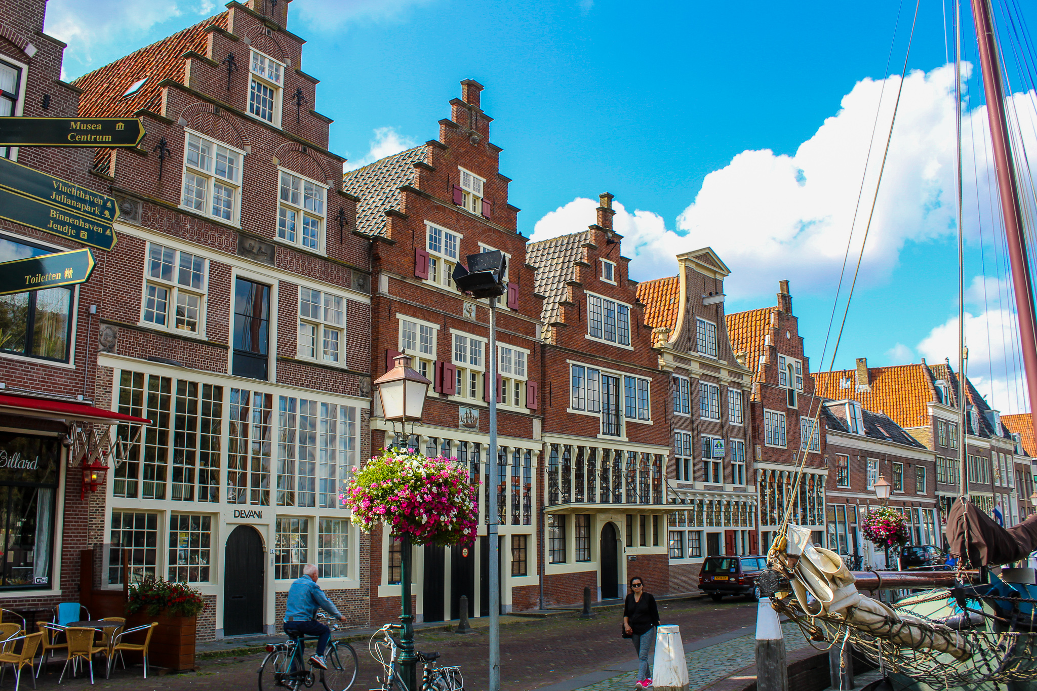 best day trip from amsterdam: go to hoorn and see the harbor
