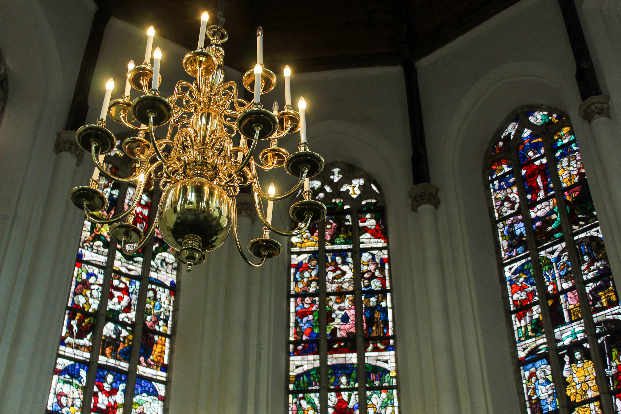 one week in the netherlands: visiting the church in delft