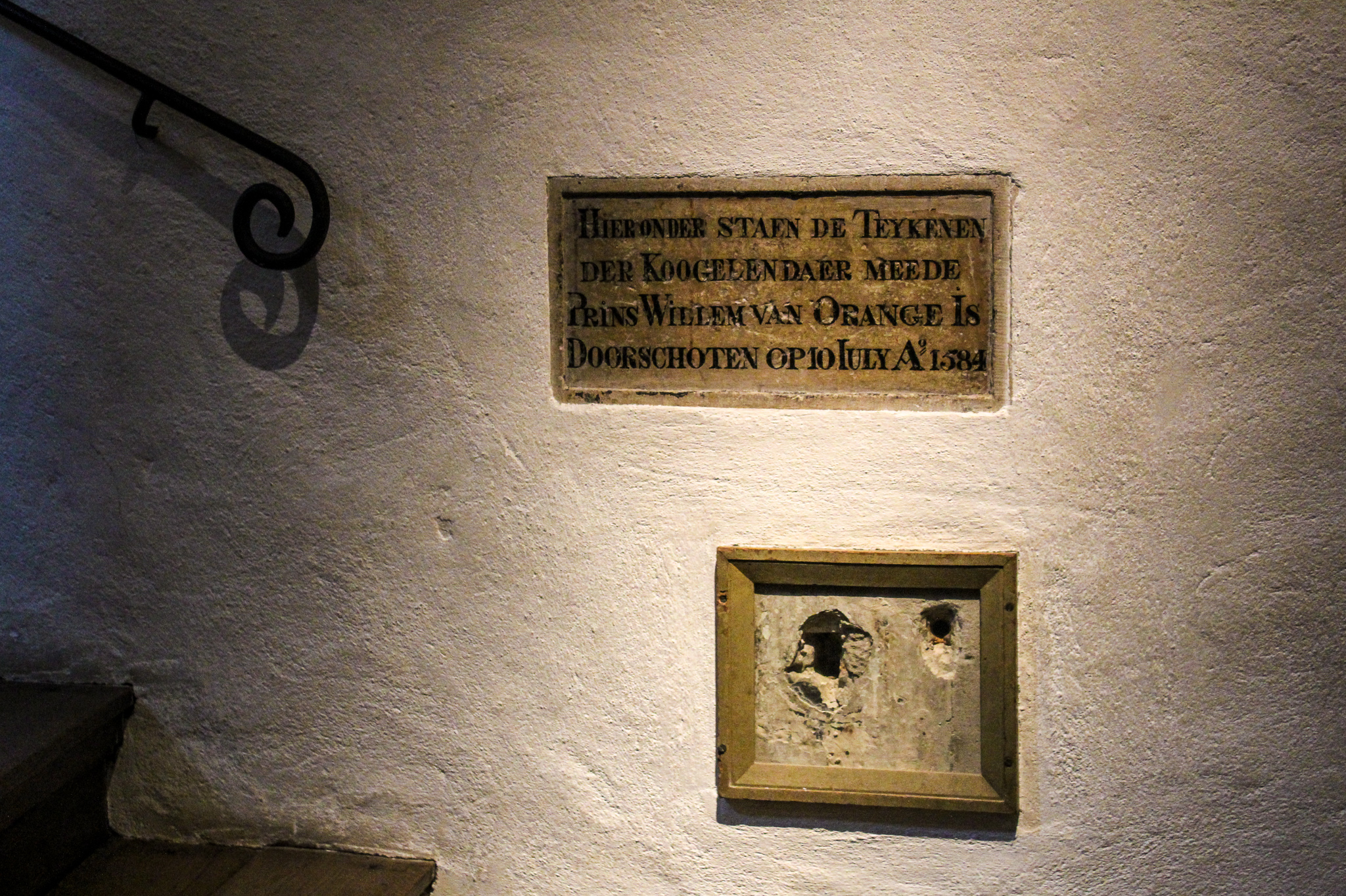 what to do in delft includes seeing where william the silent was killed