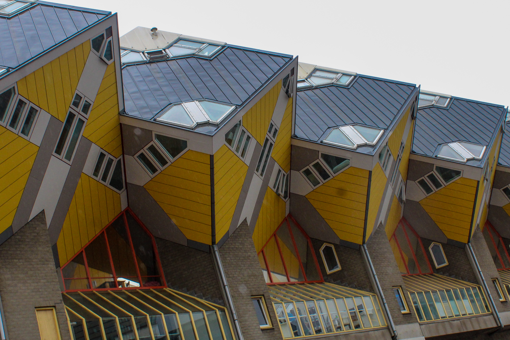 netherlands 5 days itinerary: see modern homes in rotterdam