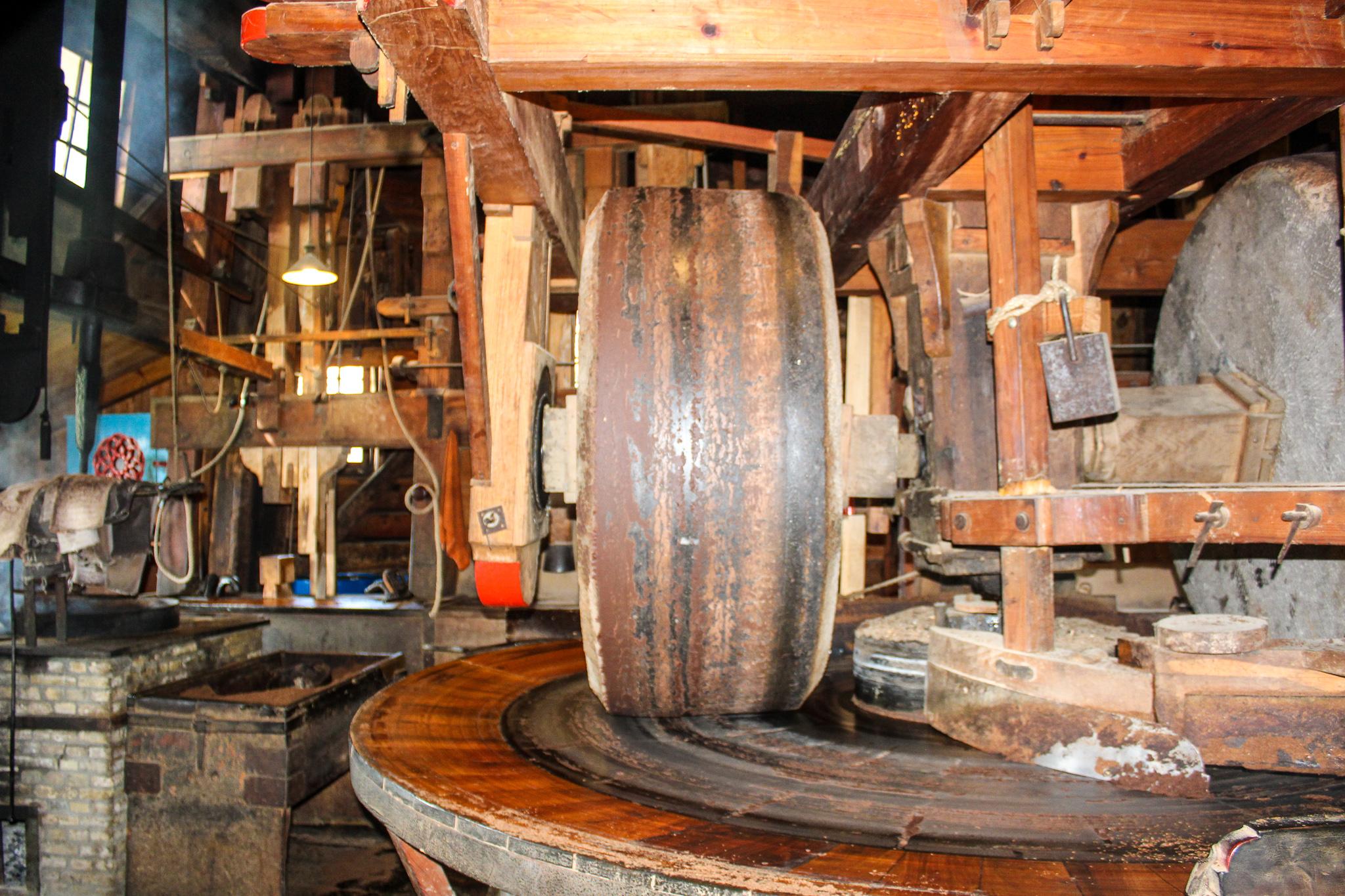 how to visit zaanse schans: go inside the windmills