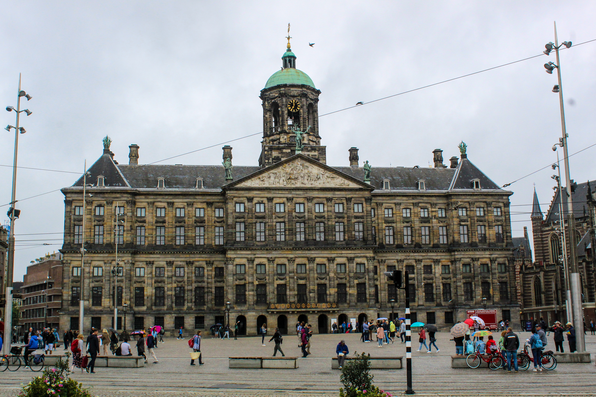 sightseeing in amsterdam in two days will take you to dam square
