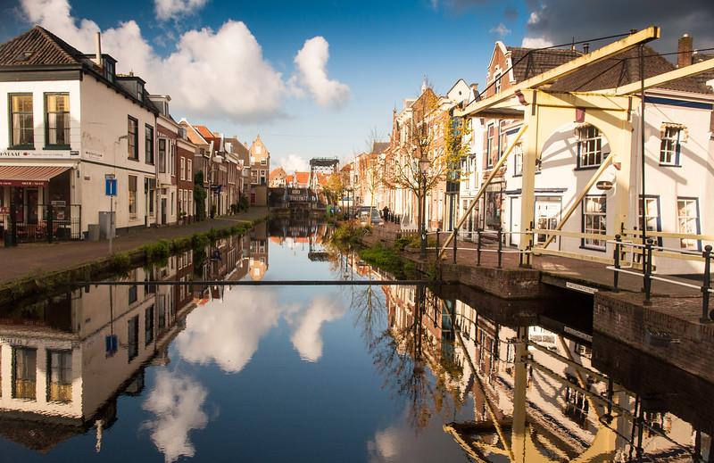 Maasluis canal