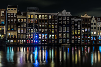 Canal houses in Amsterdam
