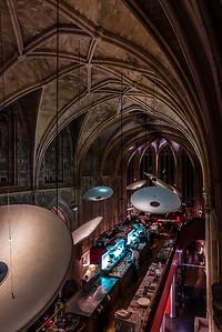 Kruisherenhotel's main lobby and restaurant