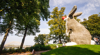 The Nijmegen Lookout Rabbit