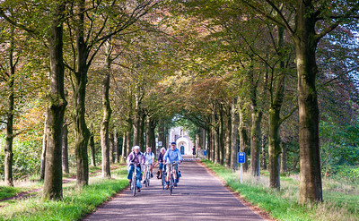Cycling at Achel Abbey