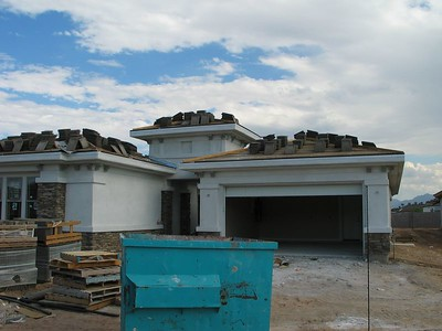 Cabinets, paint, and stucco - Aug 2005