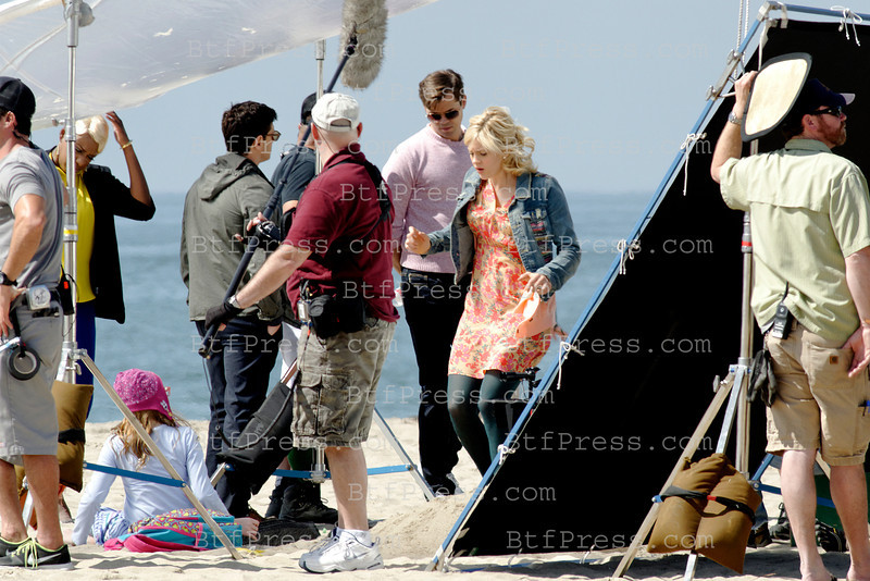 Set of The New Normal On The Beach