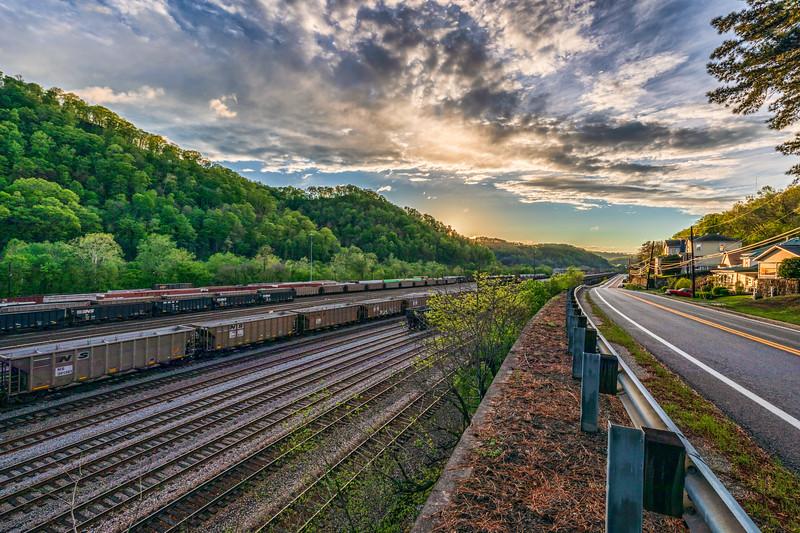Railyard Sunset