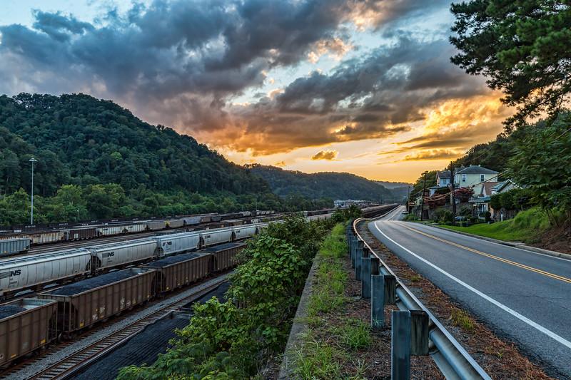 Coalfield Sunset