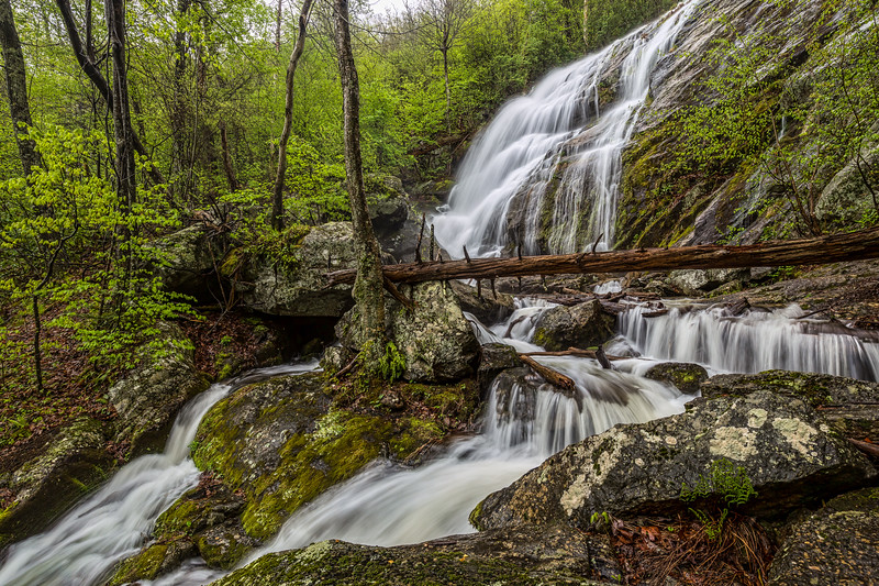 Crabtree Falls - Middle